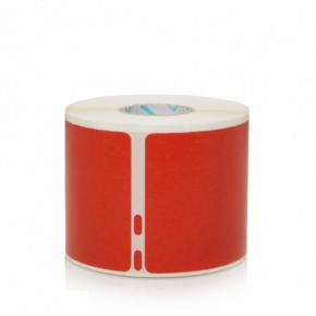 Image for product 'Dymo 2133399, Red, Rounded rectangle, Removable, Universal, Paper, 5.4 cm'