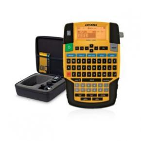 Image for product 'Dymo 1852992 RHINO 4200 Label Printer Kit UK/IRE [QWERTY, Lithium-Ion (Li-Ion) Black, Blue, Yellow]'
