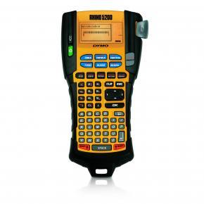 Image for product 'Dymo S0841480 RHINO 5200 Label Printer [ABC, Thermal, 180 x 180 DPI, 10 mm/sec, Black, Yellow]'