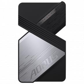 Image for product 'Gigabyte GC-ANVLINK Aorus NVLINK 2-way graphics card bridge [Passive, 80 mm, Black/ Silver]'