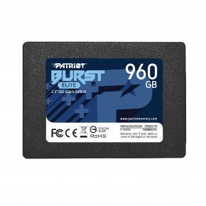 "Image for product 'Patriot PBE960GS25SSDR BURST ELITE SSD [960GB, 2.5"", SATA3, 450MB/s, TRIM]'"