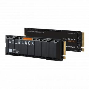 Image for product 'Western Digital WDS500G1X0E WD Black SN850 SSD [500GB, M.2 NVMe, PCIe Gen 4x4, 7000/ 4100 MB/s]'