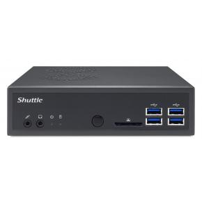 Image for product 'Shuttle PIB-DA320001 DA320 XPÐ¡ Slim Barebone [1.35L, AMD A320, Socket AM4, DDR4, SATA3, VEGA, 120 W'