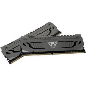 Image for product 'Patriot PVSR464G320C8K Viper Memory RGB DIMM Dual-Kit, 64GB, DDR4, 3200 MHz, CL18, 1.35v, BLACK HS'