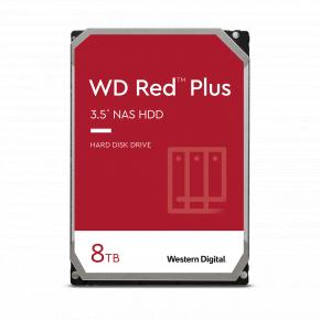 "Image for product 'Western Digital WD80EFBX RED PLUS HDD [8TB, 3.5"", SATA3, 5400 RPM, 256 MB, 210 MB/s]'"