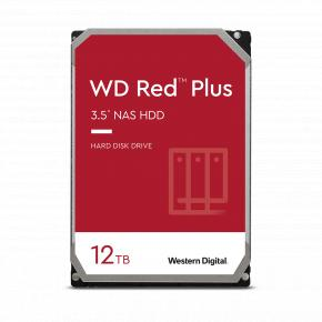 "Image for product 'Western Digital WD120EFBX RED PLUS HDD [12TB, 3.5"", SATA3, 5400 RPM, 256 MB, 215 MB/s]'"