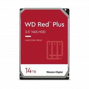 """Image for product 'Western Digital WD140EFGX RED PLUS HDD [14TB, 3.5"""", SATA3, 5400 RPM, 256 MB, 215 MB/s]'"""