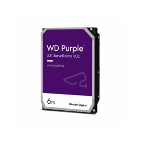 Image for product 'Western Digital WD62PURZ Purple HDD, 6TB, SATA3, 5640 RPM, 128MB, 185 MB/s'