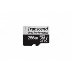 Image for product 'Transcend TS64GUSD340S 64GB microSD w/ adapter UHS-I U3 A2 Ultra Performance, 160/80 MB/s'