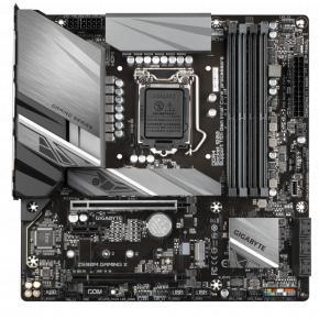 Image for product 'Gigabyte Z590M GAMING X mATX, Intel, LGA1200, 4x DIMM DDR4, 128 GB, M.2, USB 3.2, TPM'