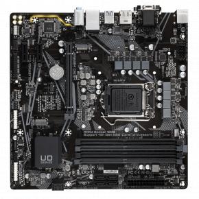 Image for product 'Gigabyte B560M DS3H mATX, Intel, LGA1200, 4x DIMM DDR4, 128 GB, M.2, USB 3.1, TPM, GBLAN'