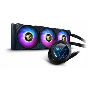 Image for product 'Gigabyte AORUS WATERFORCE X 360 Liquid Cooler 37.6 dB, 7.9 dB, 37.6 dB, Ceramic, 3 fan(s)'