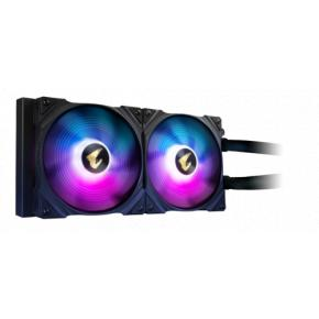 Image for product 'Gigabyte AORUS WATERFORCE X 280 Lquid Cooler 44.4 dB, 8.06 dB, 44.4 dB, 2 fan(s) 2300 RPM'