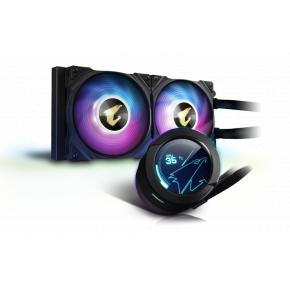 Image for product 'Gigabyte AORUS WATERFORCE X 240 Liquid Cooler, 37.6 dB, 7.9 dB, 37.6 dB, 2 fan(s) 800 RPM'
