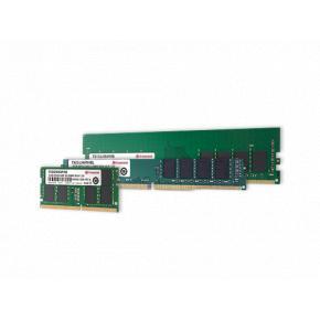 Image for product 'Transcend TS512MLH64V2D Standard Unbuffered Long-DIMM, 4GB, DDR4-3200, 1Rx16, 512Mx16, CL22, 1.2V'