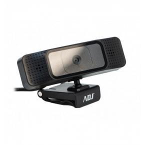 Image for product 'ADJ 750-00009 USB Webcam HD1080P with autofocus 1920 x 1080 pixels, auto-zoom, 1.5m, black'