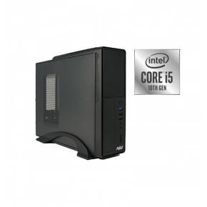 Image for product 'ADJ 271-510001-W10 i5 PC, SFF, Intel Core i5-10400, H410, 8GB DDR4, 512GB M.2 SSD, W10h'