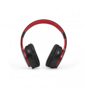 Image for product 'ADJ 780-00055 Deep Plus Bluetooth® Headset w/ microphone, Red, BT5, AUX, 400mAh, 12 hrs, 32 Ohm'