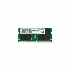 Image for product 'Transcend JM3200HSD-4G JetRAM SO-DIMM, 4GB, DDR4, 3200 MHz, 1Rx16, 512Mx16, CL22, 1.2V'