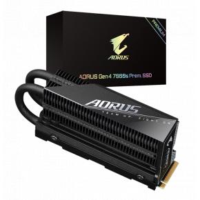 Image for product 'Gigabyte GP-AG70S2TB-P AORUS Gen4 7000s Prem. SSD, 2TB, 7000/ 6850 MB/s, 700K/ 650K IOPS'