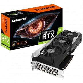 Image for product 'Gigabyte GV-N307TGAMING OC-8GD GV-N307TGAMING OC-8GD, GeForce RTX 3070 Ti, 8 GB, GDDR6X, 256-bit'