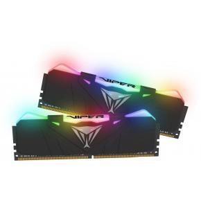 Image for product 'Patriot PVR432G360C8K Viper RGB Dual-Channel Kit, 32GB, DIMM, DDR4 3600 Mhz, CL18, HS, BLK RGB'