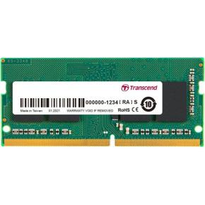 Image for product 'Transcend TS3200HSB-8G SO-DIMM, 8 GB, DDR4 3200Mhz, 1Rx8, 1Gx8, CL22, 1.2V'