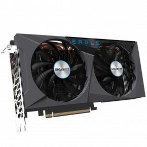 Image for product 'Gigabyte GV-N3060EAGLE-12GD Rev 2.0, GeForce RTX 3060 EAGLE 12G, GDDR6, 192 bit, PCIe 4.0 x16'