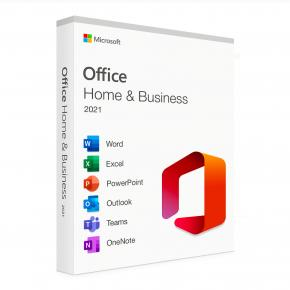 Image for product 'Microsoft T5D-0351 Office 2021 Home & Business Retail Suite, Engels, PC/ MAC'