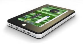 Hyundai webtablet P074K 4GB met WiFi