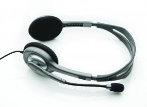 Image for product 'Logitech H110 Stereo Headset [3.5mm,. Microphone, Binaural, Black]'