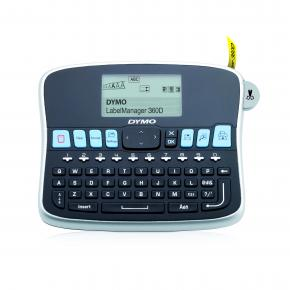 Image for product 'Dymo S0879470 LabelManager 360D QWERTY [Direct thermal, 180 x 180 DPI, 12 mm/sec, Black,Silver, LCD]'