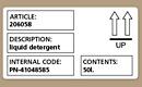Image for product 'Dymo Verzending/naambadge etiketten 101x54mm'