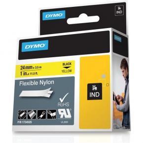 Image for product 'Dymo RhinoPRO nylon yellow 24mm'