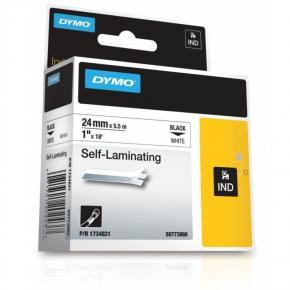 Image for product 'Dymo RhinoPRO self-laminating vinyl white 24mm'