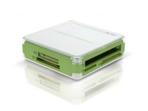 Image for product 'Conceptronic CCOMBOGR Stylish Multi Card Reader and 3 Ports Hub'