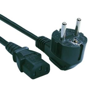 Image for product 'Kabel 230V 1,8m CEE/IEC [C13, Earth, 1.8m]'