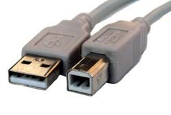 Image for product ' USB2.0 Cable A-B 1.8M Black'