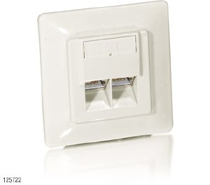 Image for product 'Equip 125722 Uni C5e Outlet w/ Upframe (5 pcs)'