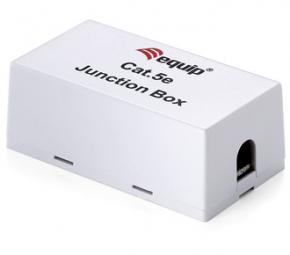 Image for product 'Equip 135410 Junction Box for Cat.5e for Lan Cable [22-26AWG, solid wire, unshielded]'