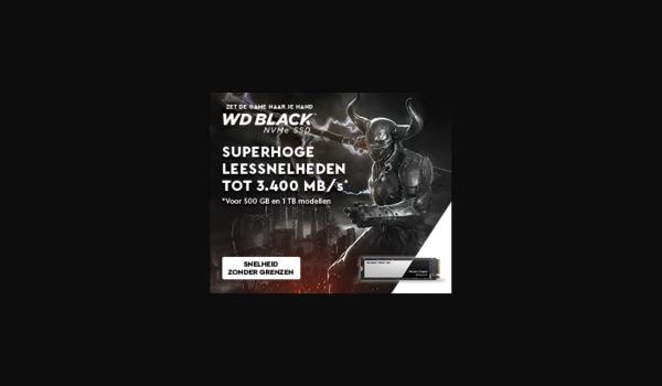 WD Black M.2 NVME SSD
