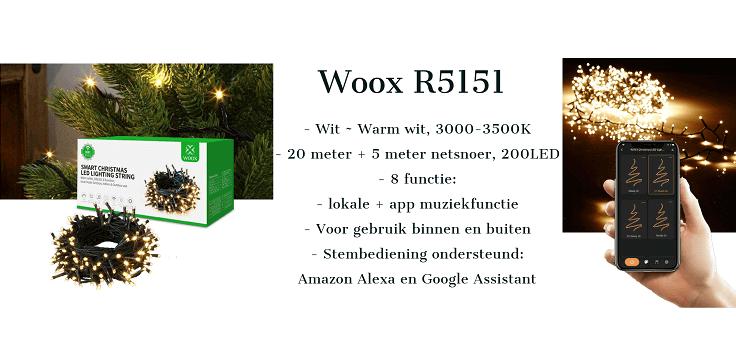 Woox kerst banner